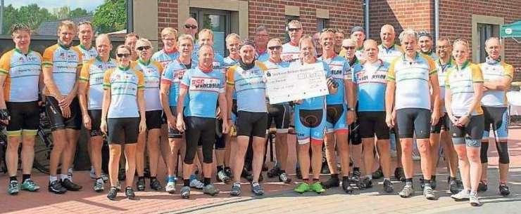 Radsportler unterstützen Spendentour