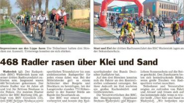 """Presseberichte -RTF 2019 """"Über Klei und Sand"""""""