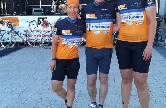 """Handicap bewegt"""" Spendentour 2013 über 440 Kilometer vom 20. – 21. Juli"""