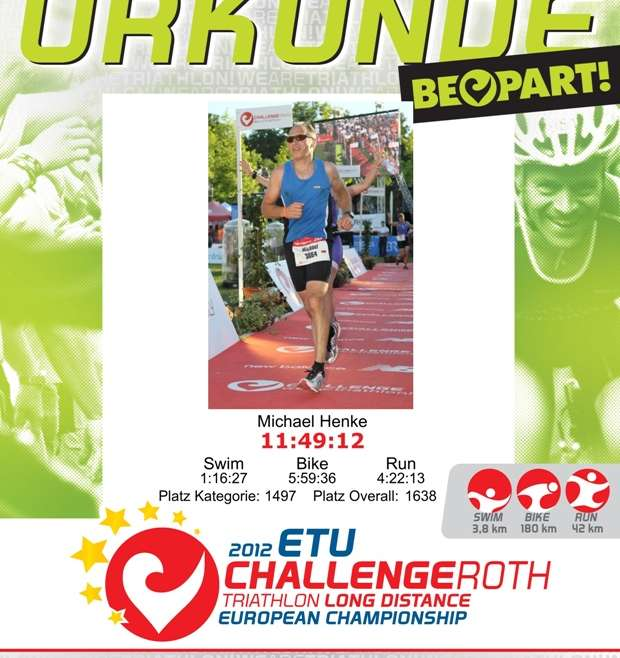 08.07.2012   Challenge Roth  /  Triathlon Long Distance
