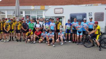 Radsportclub Wadersloh führte zum Möhnesee
