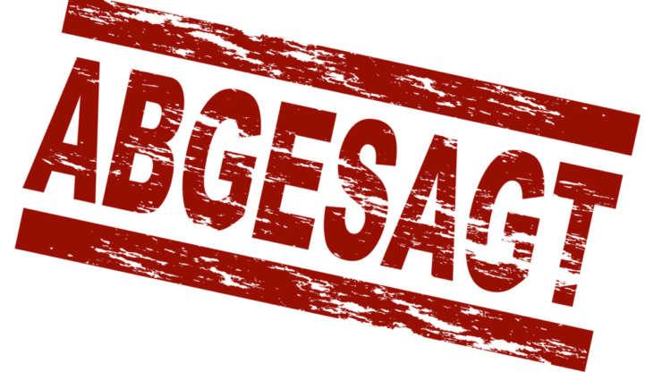 RTF am 05.04.2020 abgesagt
